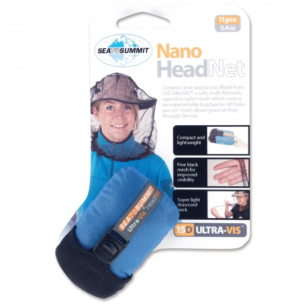 Sea to Summit - Nano Mosquito Headnet - Hyttysverkko