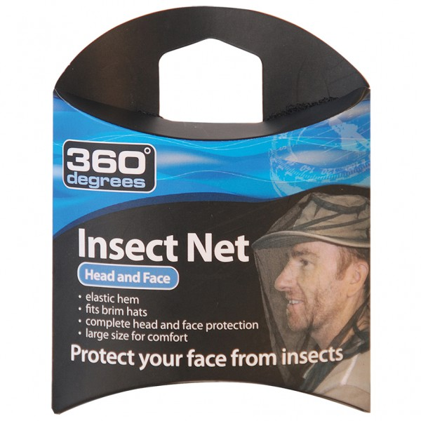 360 Degrees - Mosquito Insect Head Net - Moskitonet
