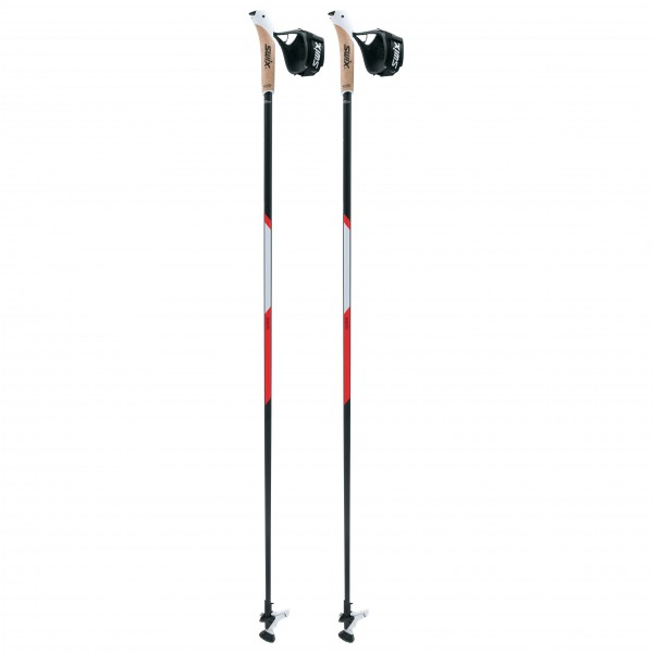 Swix - Nordic Walking CT2 Red Professional Carbon Tech - Bastones para marcha nórdica