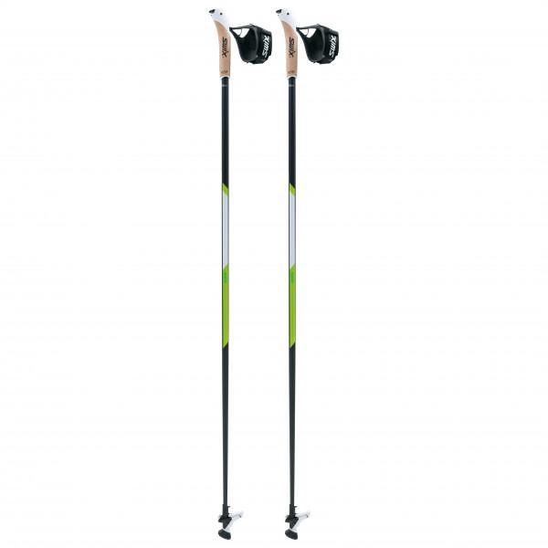 Swix - Nordic Walking CT4 Lime Carbon Tech - Nordic walking poles