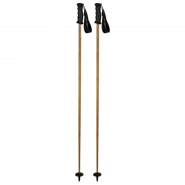 Komperdell - Carbon Bamboo - Skistokken