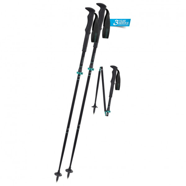 Komperdell - Carbon FXP.4 Summit Vario Compact - Bastones de trekking