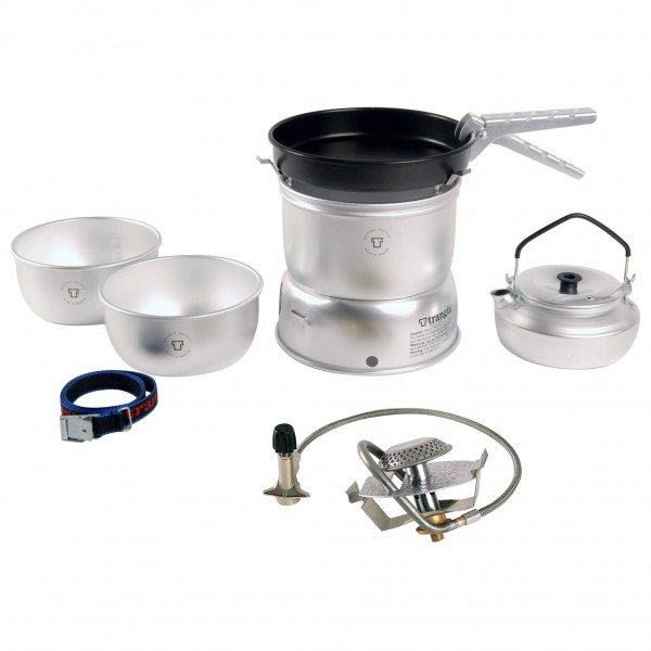 Trangia - 25-4 storm-proof stove with Primus gas burner