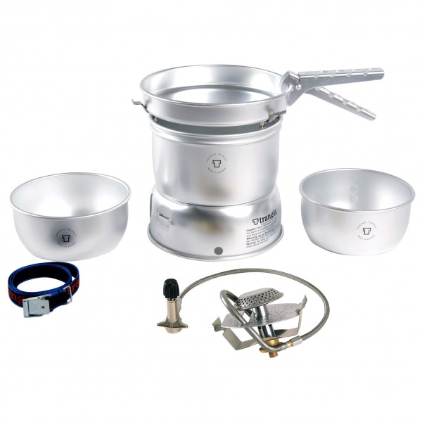 Trangia - 27-1 storm-proof stove with Primus gas burner