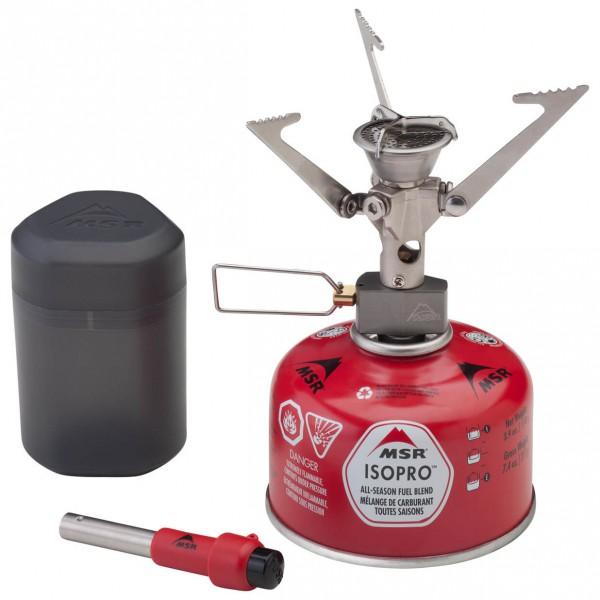 MSR - Micro Rocket Stove - Gas stove