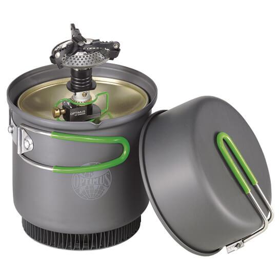Optimus - Crux Weekend HE Kochsystem - Gassbrennere