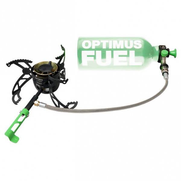 Optimus - Nova - Multifuel brenner
