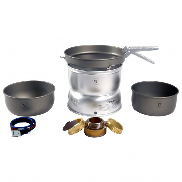 Trangia - 25-7 Spiritussturmkocher Ultralight Hardanodized - Spirituskookstel