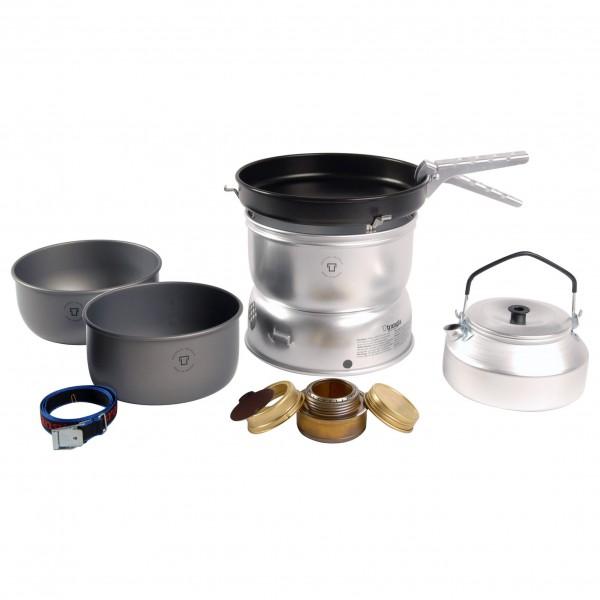 Trangia - 25-0 Spiritus Sturmkocher mit Wasserkocher - Spirituskookstel