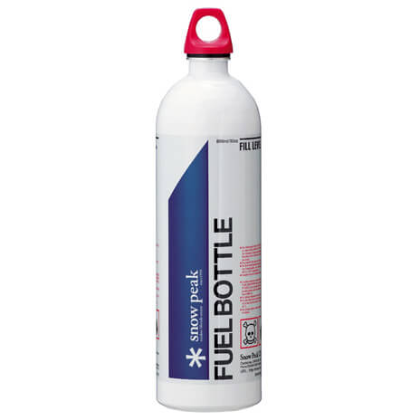Snow Peak - Fuel Bottle - Brennstoffflasche mit Kappe