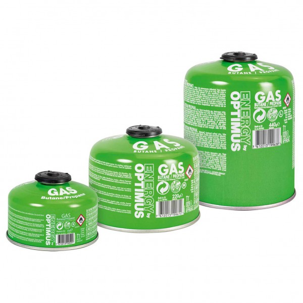 Optimus - Gas Canister (Butan / Propan) - Gaskartusche