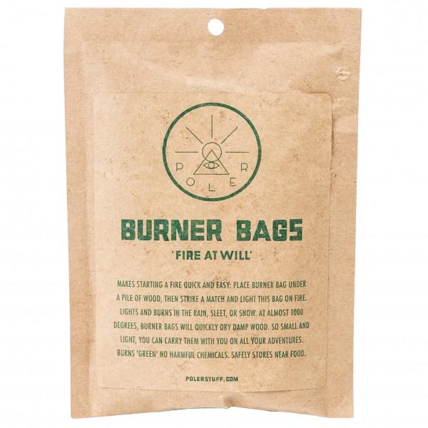 Poler - Burner Bag (10-Pack) - Allume-feu