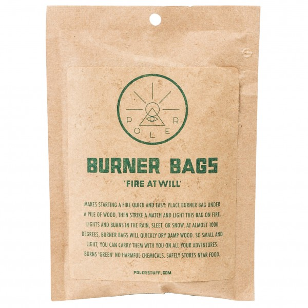 Poler - Burner Bag (10-Pack) - Feueranzünder