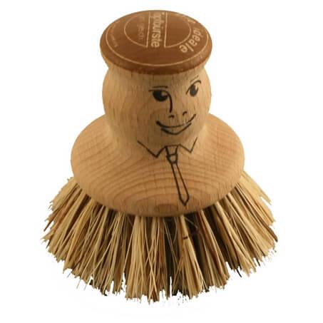 Trangia - Brosse à récurer en bois