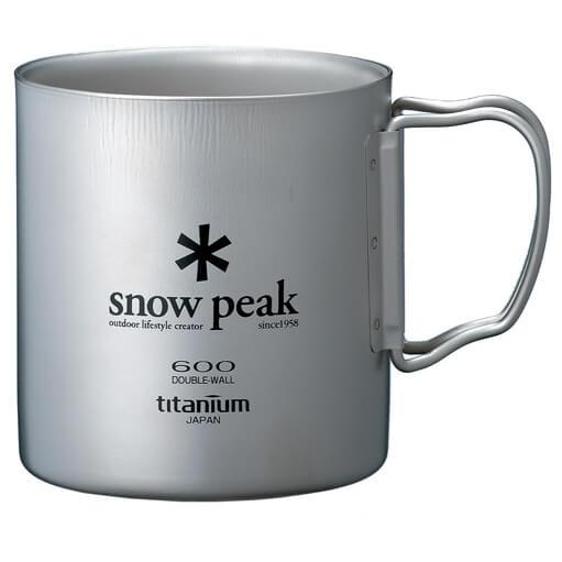 Snow Peak - Titanium Double Wall Cup - Dubbelwandige beker