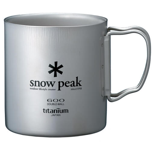 Snow Peak - Titanium Double Wall Cup - Tasse à double paroi