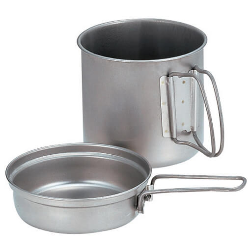 Snow Peak - Titanium Trek 900 - Travel cooking pot