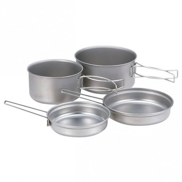 Snow Peak - Titanium Multi Compact Cook Set - Astia-setti
