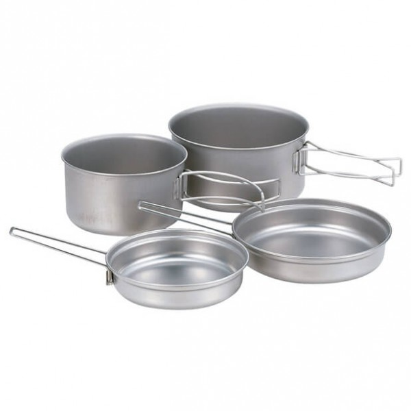 Snow Peak - Titanium Multi Compact Cook Set - Set of dishes