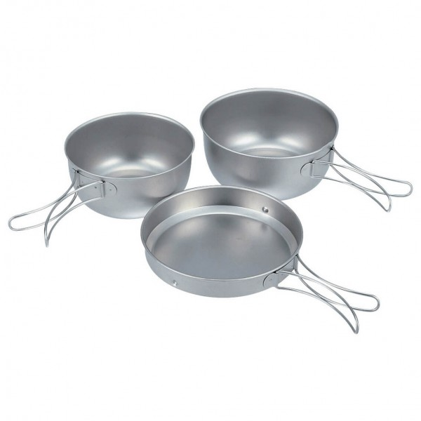 Snow Peak - 3 Piece Titanium Cook Set
