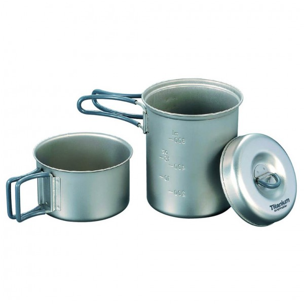 Evernew - Ti Solo Pot Set - Batterie de cuisine