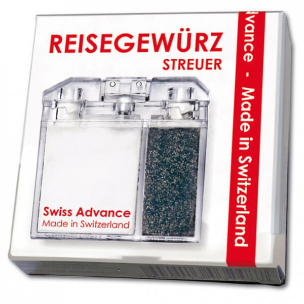 Swiss Advance - Travel spice shaker salt+pepper
