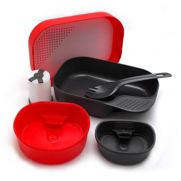 Wildo - Camp-A-Box Complete - Dish set
