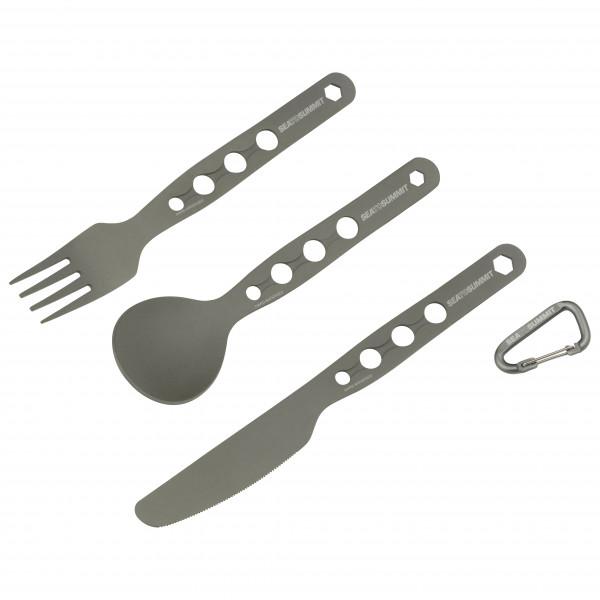 Sea to Summit - Alphaset 3 pc Cutlery Set