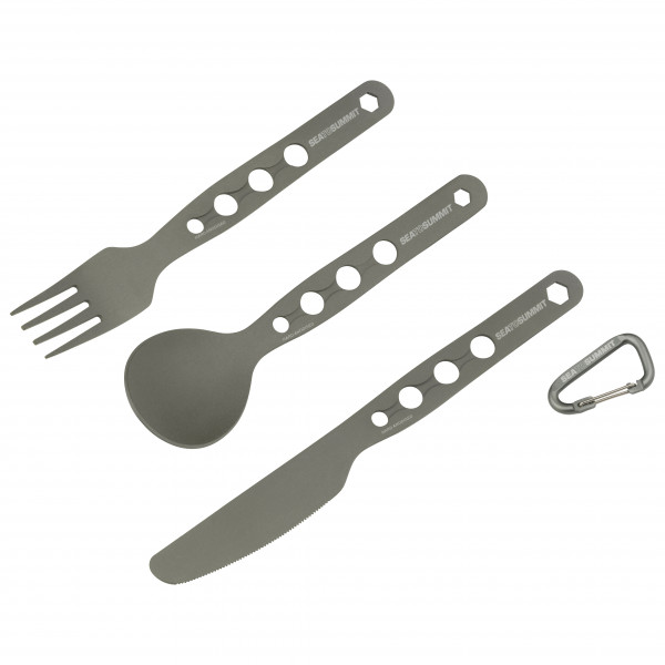Sea to Summit - Alphaset 3 pc Cutlery Set - Cutlery set