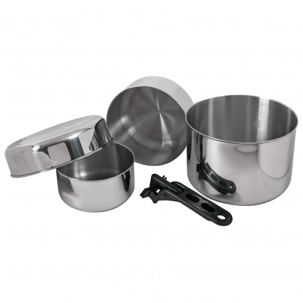 Relags - Biwak stainless steel 3 - Ruoanvalmistussetti