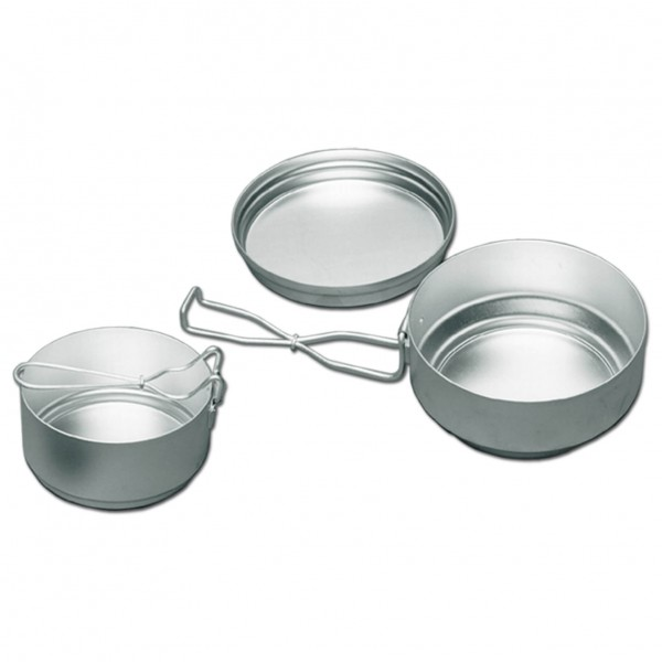 Alb Forming - Three-Piece Mess-Tin Set Aluminum - Kattila