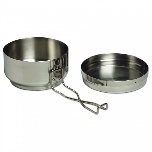 Alb Forming - Two-Piece Mess-Tin Set Steel - Kastrull