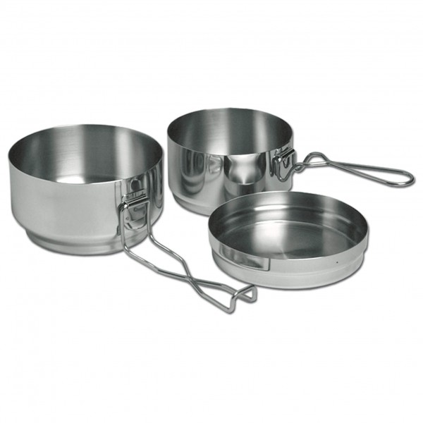 Alb Forming - Three-Piece Mess-Tin Set Steel - Kattilasetti