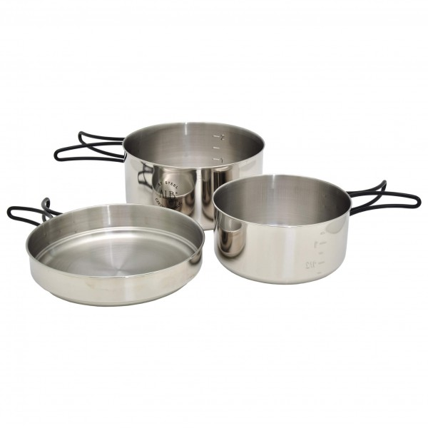 Alb Forming - K2 Three-Piece Set - Set de cuisson