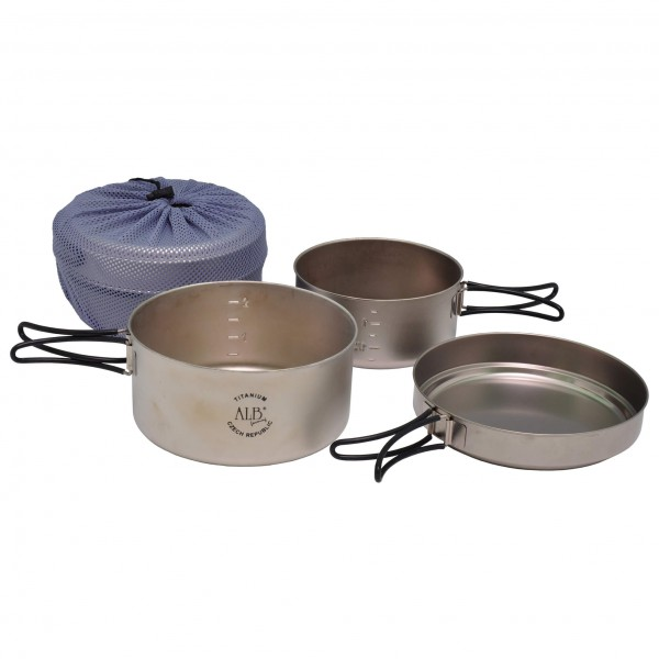 Alb Forming - Titanium Camping Set II - Cooking set