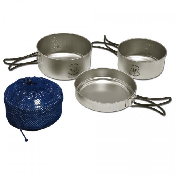 Alb Forming - Titanium Camping Set I - Set de cuisson