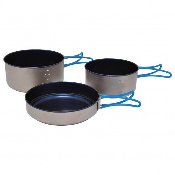 Alb Forming - Titanium Camping Set Non-Stick - Cooking set