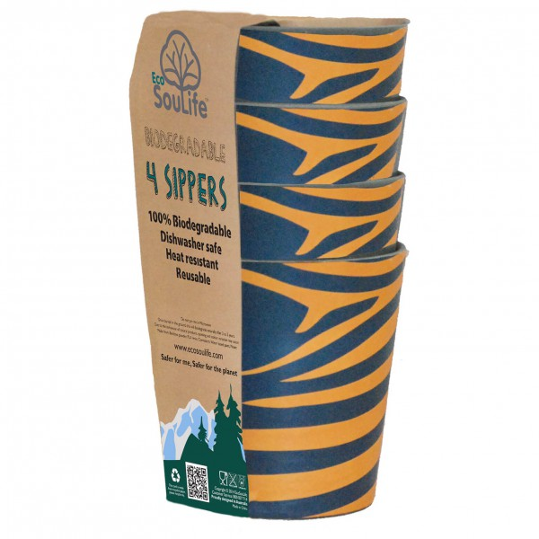 EcoSouLife - 4 Sippers 4 Pack - Kulhosetti