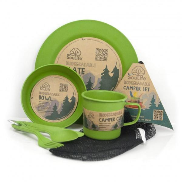 EcoSouLife - Camper Set - Set of dishes