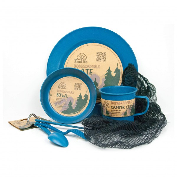 EcoSouLife - Camper Set - Set of dishes