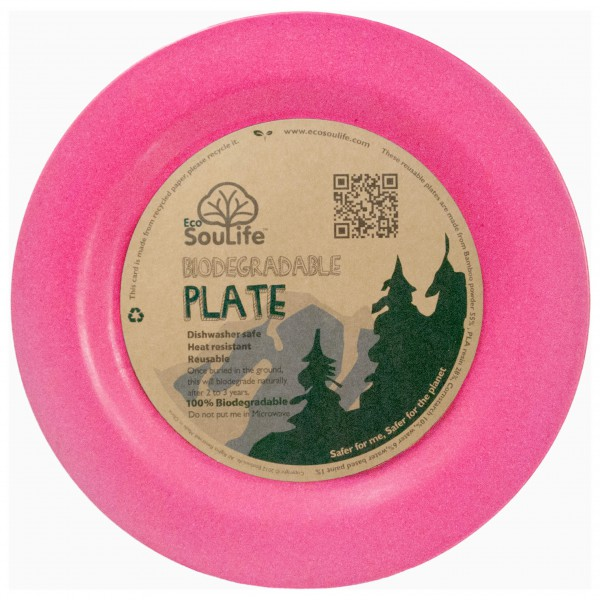 EcoSouLife - Large Dinner Plate - Assiette