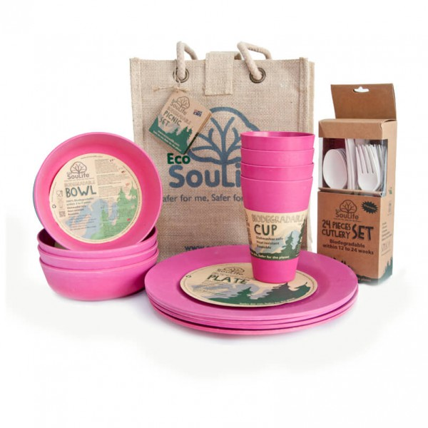 EcoSouLife - Picnic Set - Set of dishes
