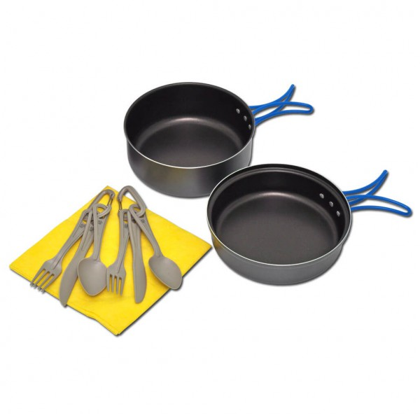 Alb Forming - Camping Alu Set With Non-Stick Coating