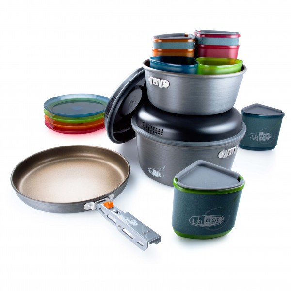 GSI - Pinnacle Camper - Set of dishes