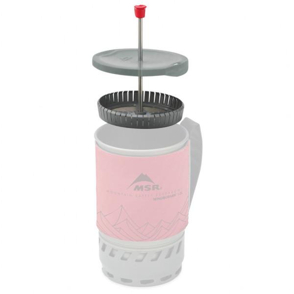 MSR - WindBurner Coffee Press Kit 1.0 L - Cafetière à piston