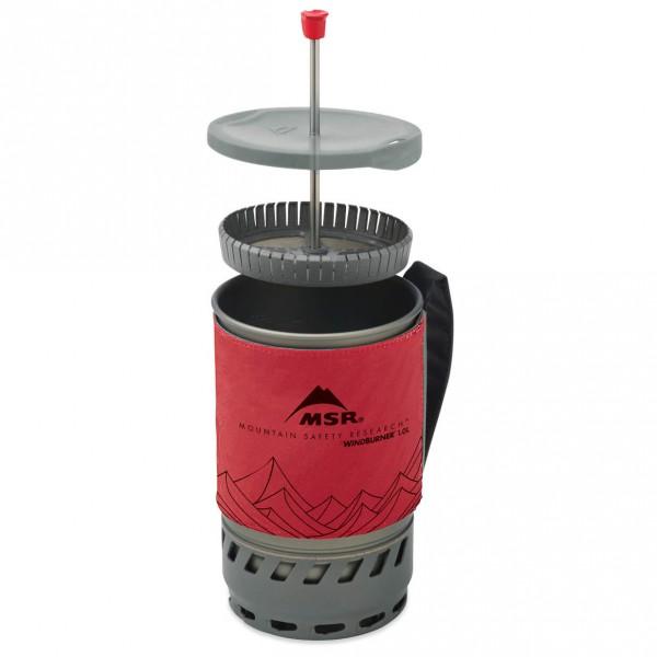 MSR - WindBurner Coffee Press Kit 1.8 L - Cafetière à piston