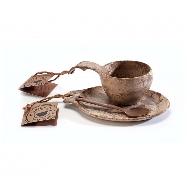 Kupilka - Geschenkset - Mok, onderzetter, lepel