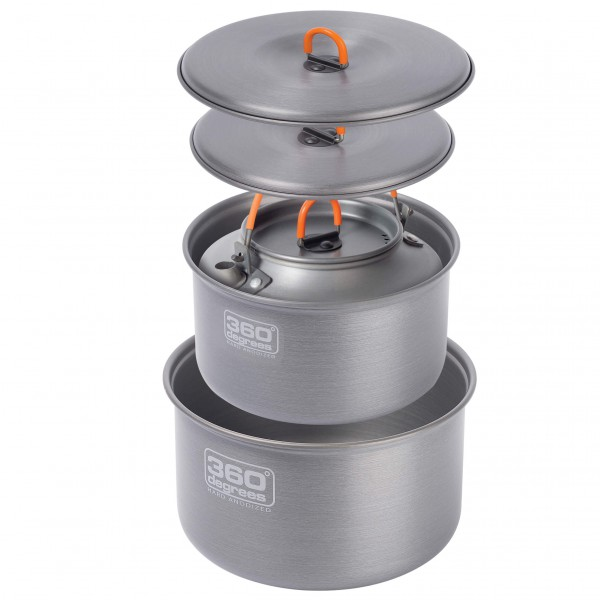 360 Degrees - Furno Large Pot Set With Kettle - Gryte
