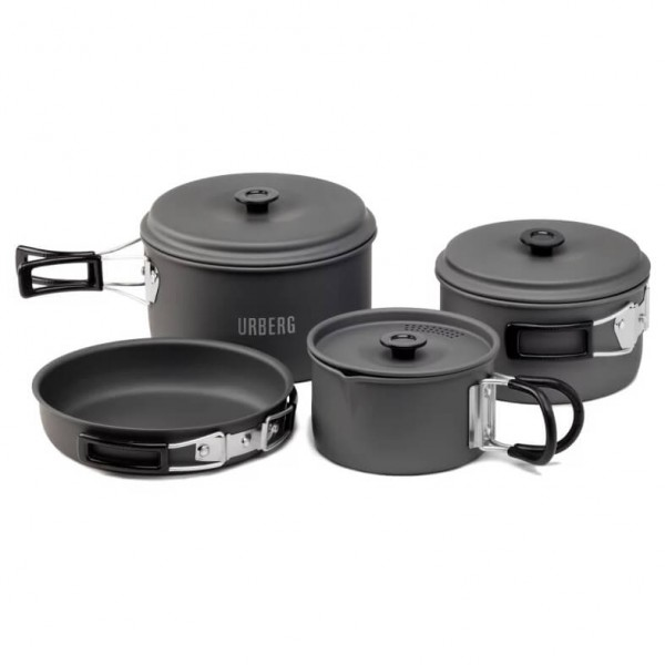 Urberg - Camping Cookset - Topf-Set