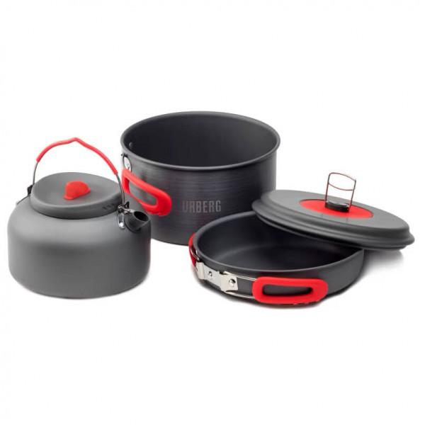 Urberg - Camping Cookset Kettle - Gryde